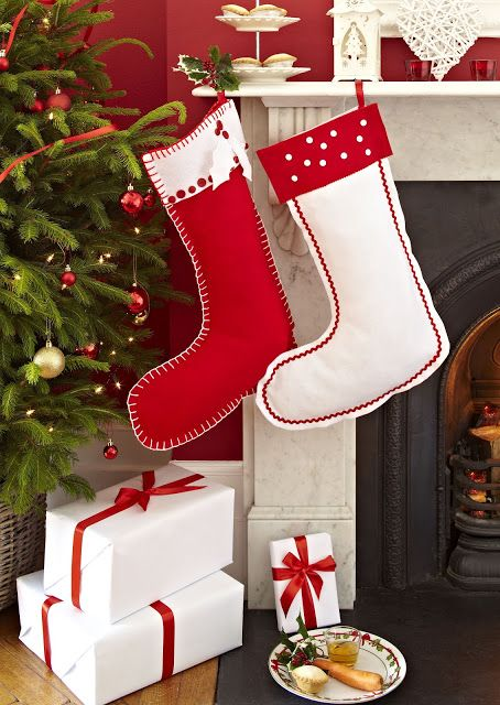 How To Make A Christmas Stocking ...