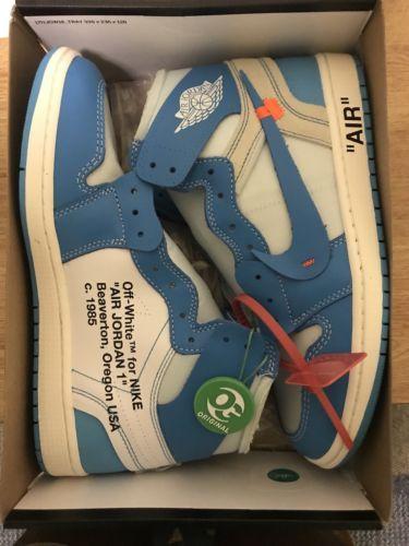 wholesale dealer 25362 403be Jordan 1 Unc Off White Size 11   Jordan in 2018   Pinterest   Jordans, Nike  air jordans and Air jordans