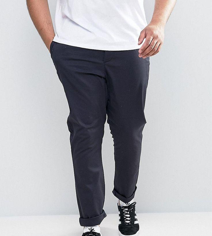 PLUS Smart Trousers In Navy - Navy Duke u4N8Jwl