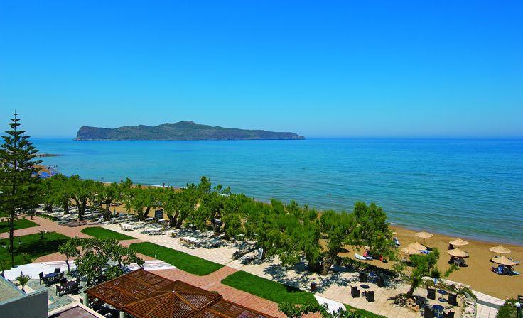 Long Beach, in front of Almyra Hotel & Village in Ierapetra, Crete