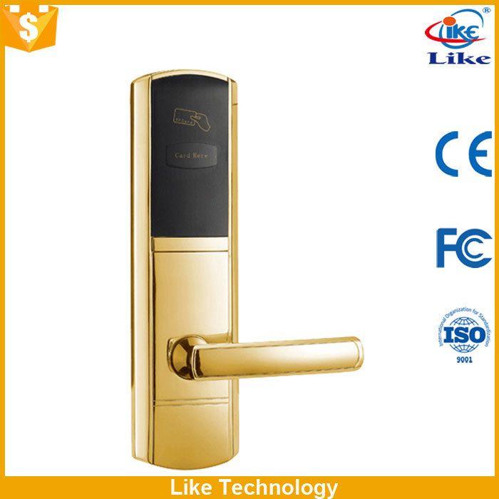 China Factory Supply how do hotel door locks work China Factory Supply swing bar door guard for high-grade hotels