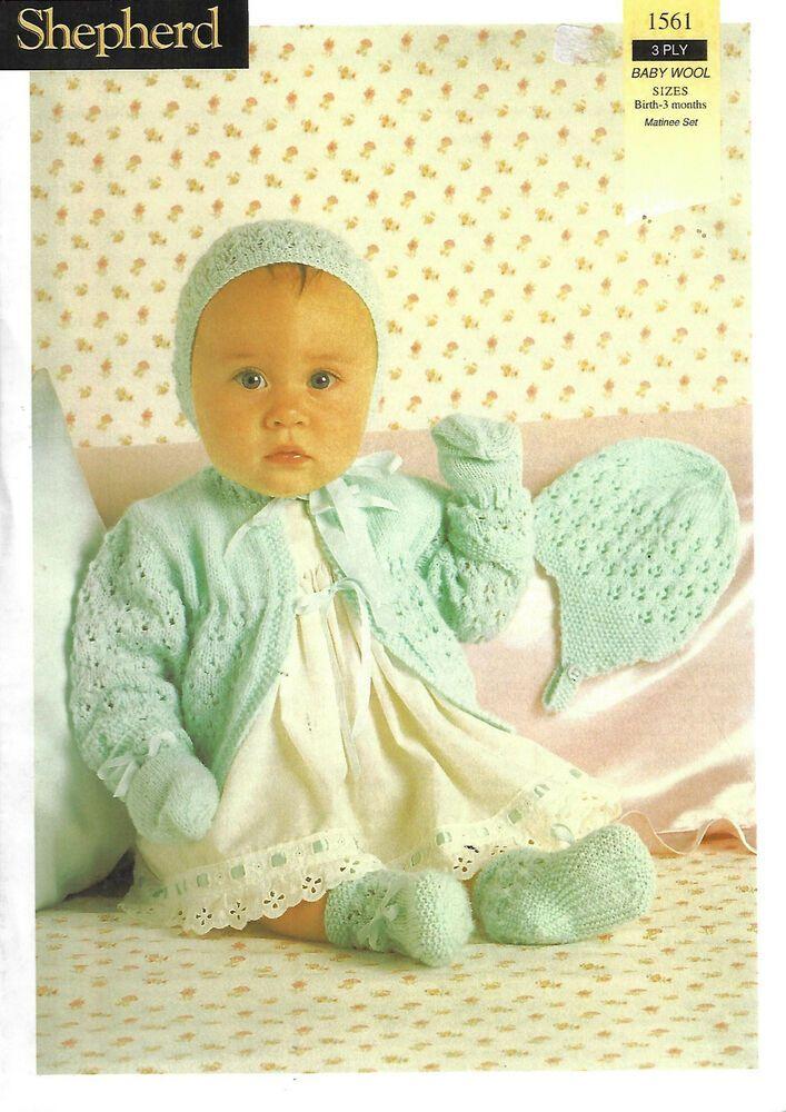 1716 BABY CHILD ARAN SWEATER /& CARDIGAN KNITTING PATTERN 18//24 INCH