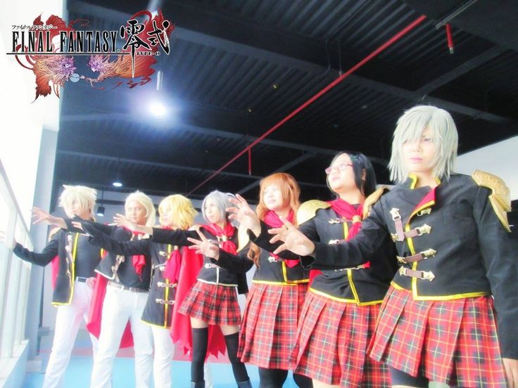 Final Fantasy Type-0 Cosplay