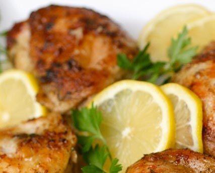 ayam crispy saus lemon