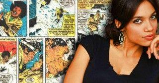 """NYCC: Rosario Dawson's """"Daredevil"""" Role Revealed - Comic Book Resources"""