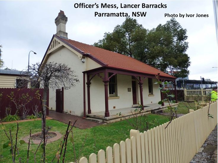 Officers Mess, Lancer Barracks, Parramatta