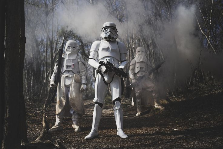 Troopers - Star Wars shoot with a couple of guys from the 501st legion- Nordic Garrison. More images will come; follow for more from same shoot :)