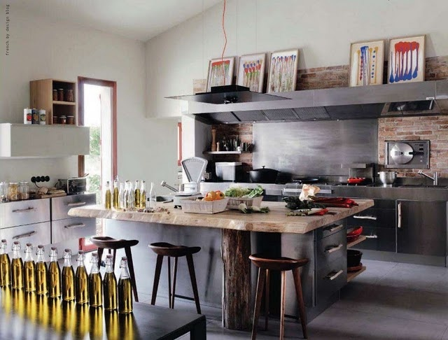 French By Design: At home with Elke kitchen
