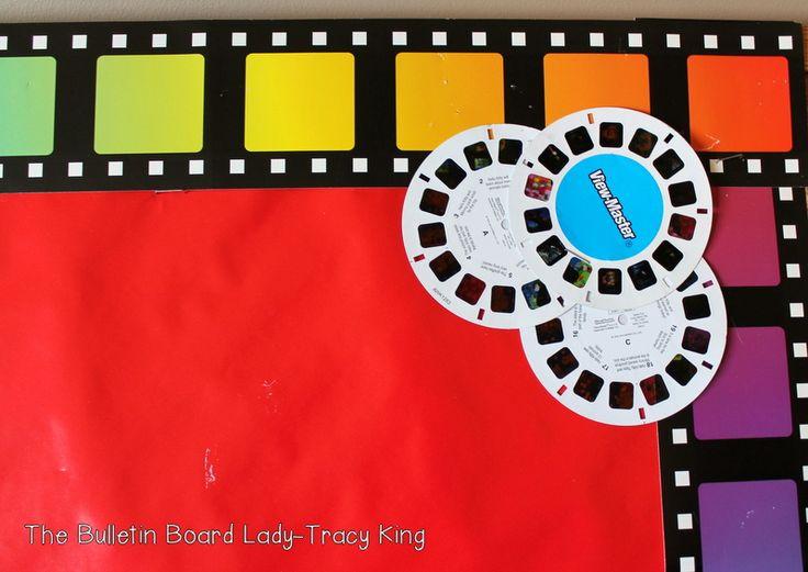 Movie themed board...