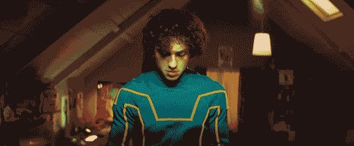 Kick-Ass (2010) Starring: Aaron Taylor-Johnson, Nicolas Cage, Chloë Grace The heroes: Kick-Ass, Big Daddy, Hit-Girl The villains: Red Mist What's at stake?