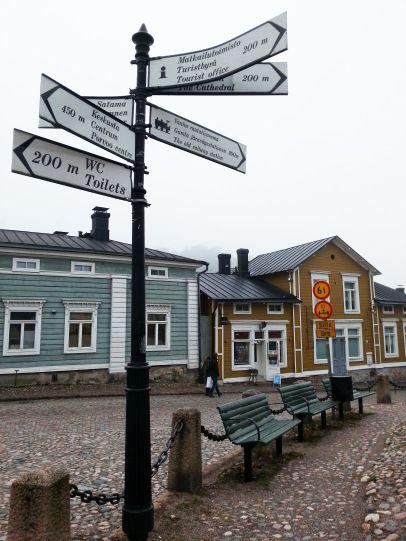 Улицы Порвоо