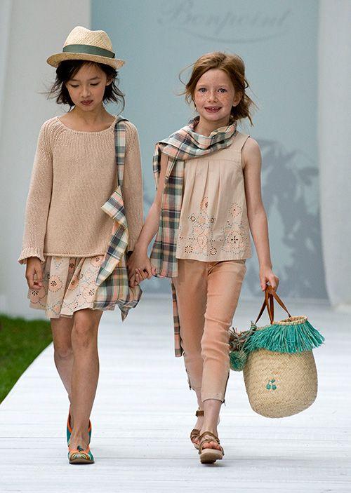 ランウェイの主役は子どもたち!ボンポワン2014年春夏コレクション、愛らしいステージが観客を魅了の写真26