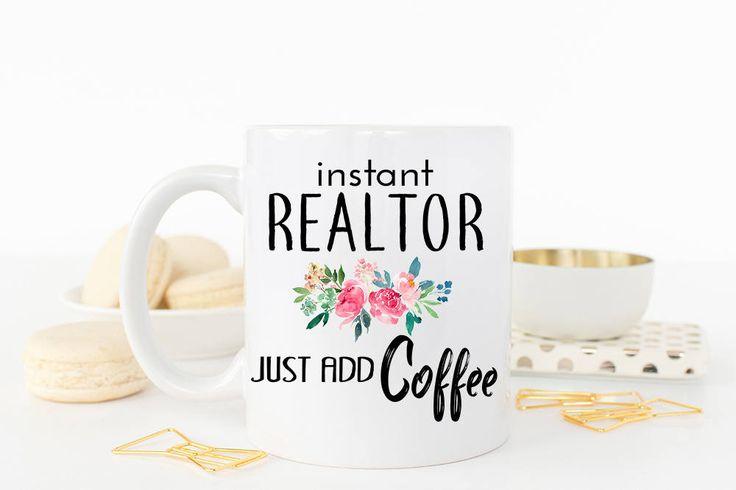 Realtor Mug, Real Estate Agent Mug, Realtor gift, Closing Gift for Realtor, Funny Realtor Gift, Real Estate Agent Gift, Gift for Realtor by WeefersGifts on Etsy