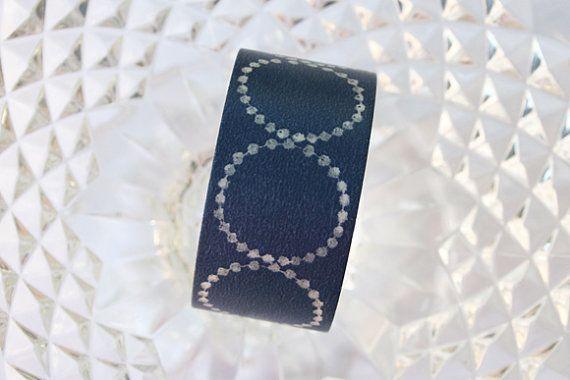 2014 Summer Collection Tambourine Petit Navy Washi by TheWashiShop, $6.50