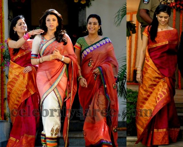 Kajal Saree at Baadshah Movie | Saree Blouse Patterns
