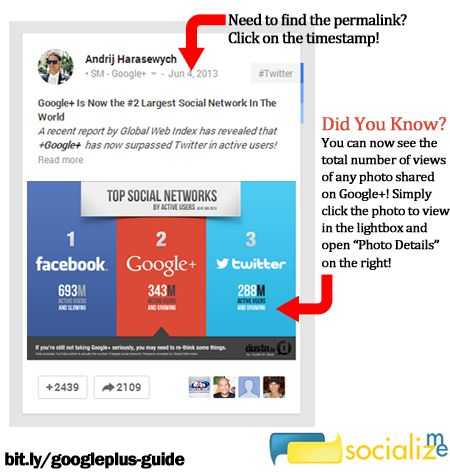 Google+ Posting Guide [Infographic] | Socialize Me