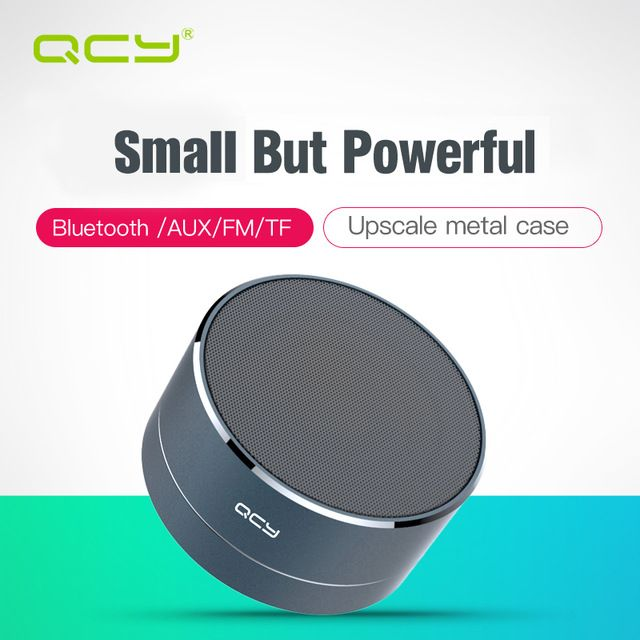 Us 12 08 Qcy A10 Simply Wireless Bluetooth Speaker Outdoor Minimal Art Aluminum Anode Support Tf Car Wireless Speakers Bluetooth Bluetooth Wireless Bluetooth