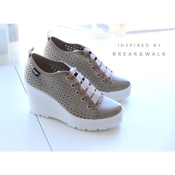 Zapatilla de Cuña para Mujer. Break&Walk