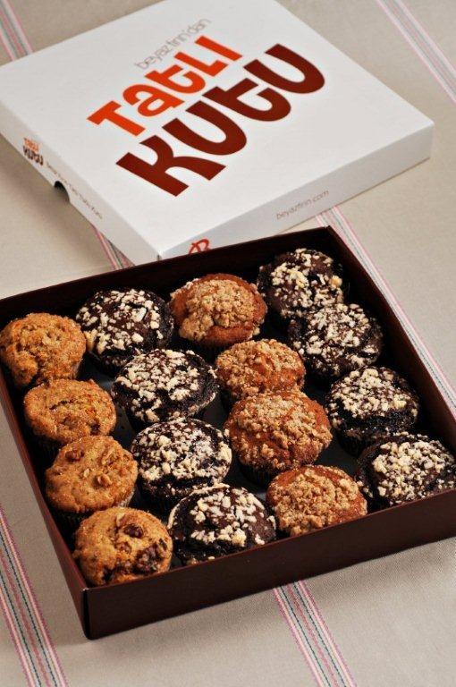 Tatlı kutu-muffin