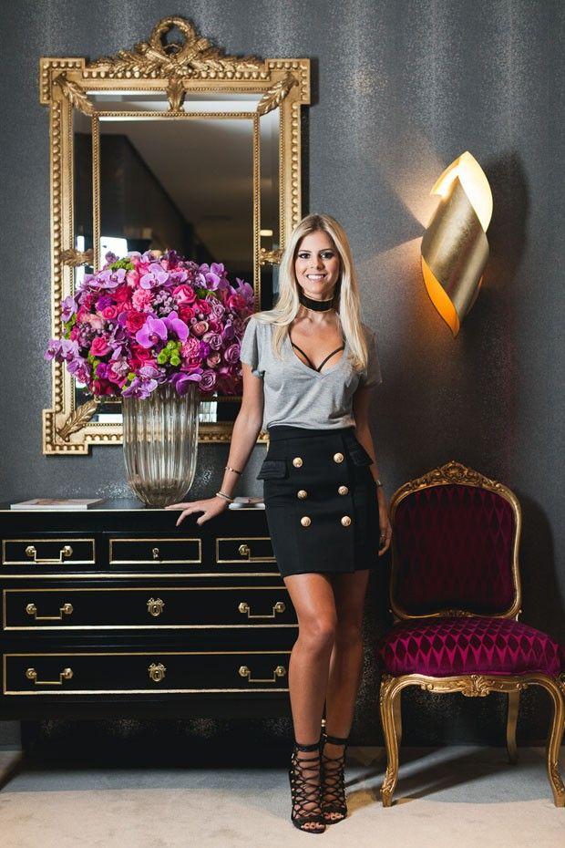 O novo escritório da blogueira Lala Rudge