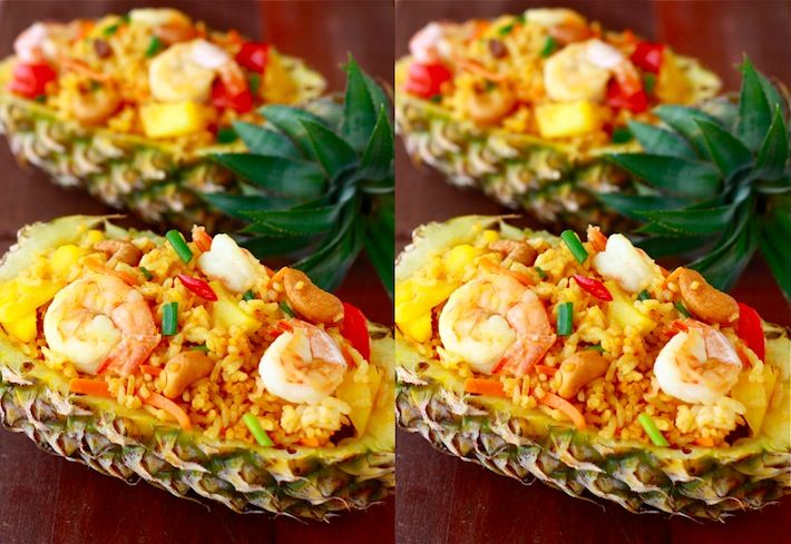 Season with Spice - Features: Pineapple Shrimp Fried Rice: Asian Recipe, Pineapple Shrimp, Fried Rice I, Asian Spices, Thai Fried Rice, Shrimp Fried Rice, Fried Rice Recipes, Spices Shops, Pineapple Fried Rice
