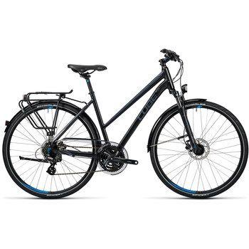 CUBE TOURING PRO Damen Trekkingrad - 2016 - black grey blue - Bike24