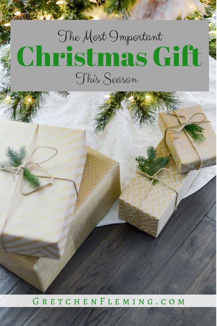 """Are you exhausted on all that is """"Christmas"""" and missing out on the best part? #Christmas #gift #worship"""