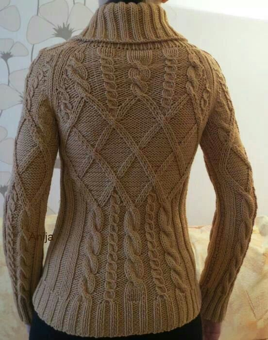 Cabled sweater- knitspiration                                                                                                                                                                                 Mais