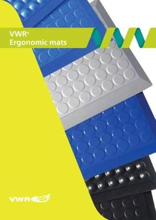 VWR Ergonomic Mats - Reduce fatigue & stimulate blood circulation! VWR Ergonomic Inifinity Lab mats are available in a wide range of sizes and offer many benefits:- -Stimulate blood circulation and reduces fatigue -No tripping hazard -Increases productivity -ISO 5 class compatible -12 year warranty -Thickness 1.6cm Available in bubble and smooth options