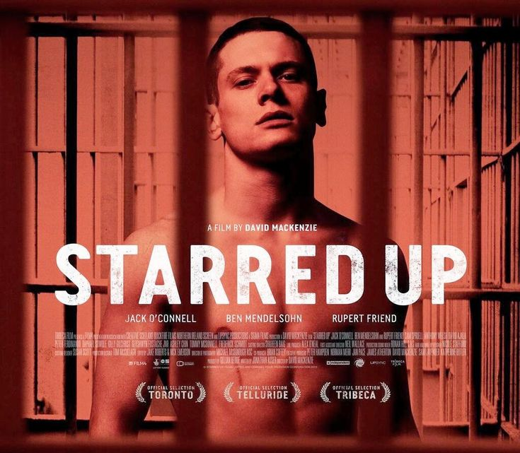 British movie about a young man in jail where his father is in too...
