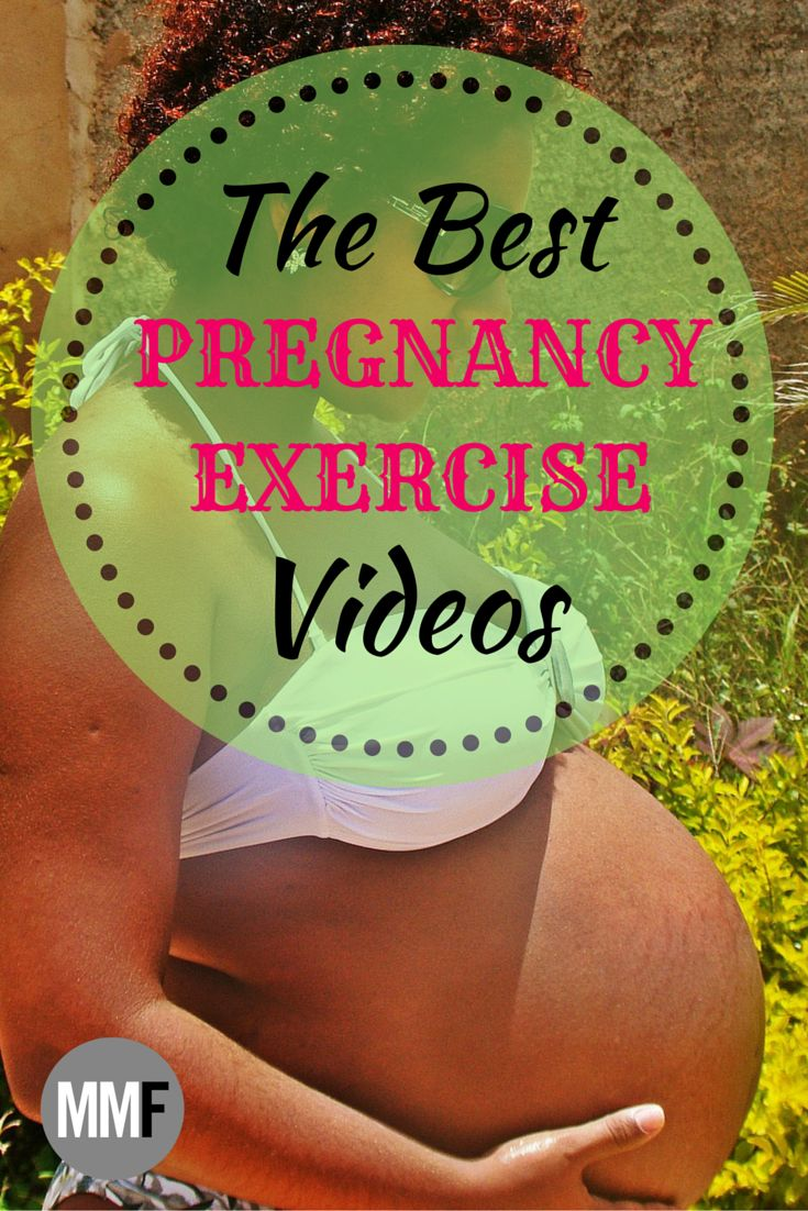 The best pregnancy exercise plan with videos and pictures and modifications of the exercises for home and gym use. This is so great. I needed this.