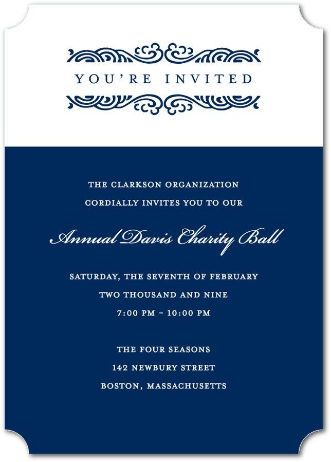 Business Invitation Card | PaperInvite