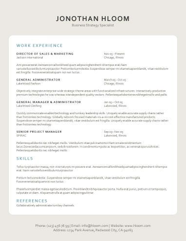 31 best resume format images on Pinterest Resume layout, Career - traditional resume format