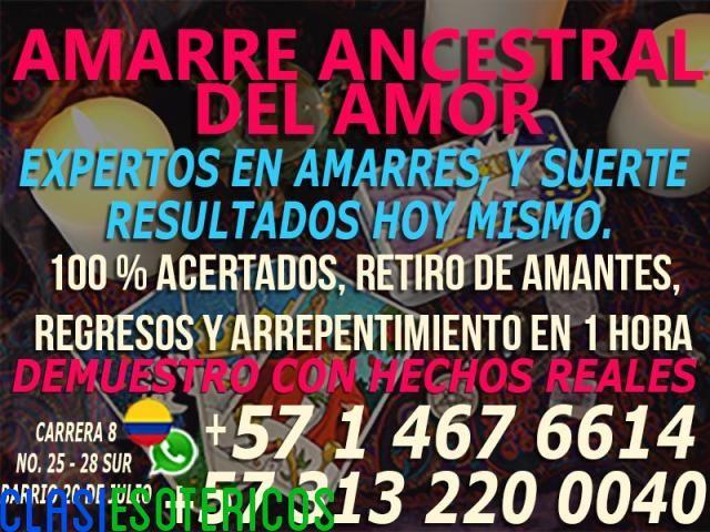 """""""AMARRES DE AMOR DE LOS PODEROSOS MAESTROS AMARRE ANCESTRAL¡LLAMA YA! (+57) 3132200040"""""""