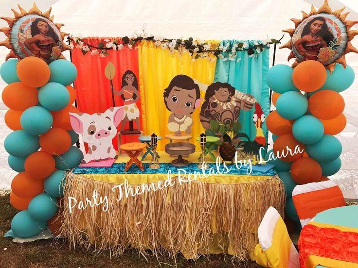 Moana Birthday Party Ideas Princess Moana Party Moana
