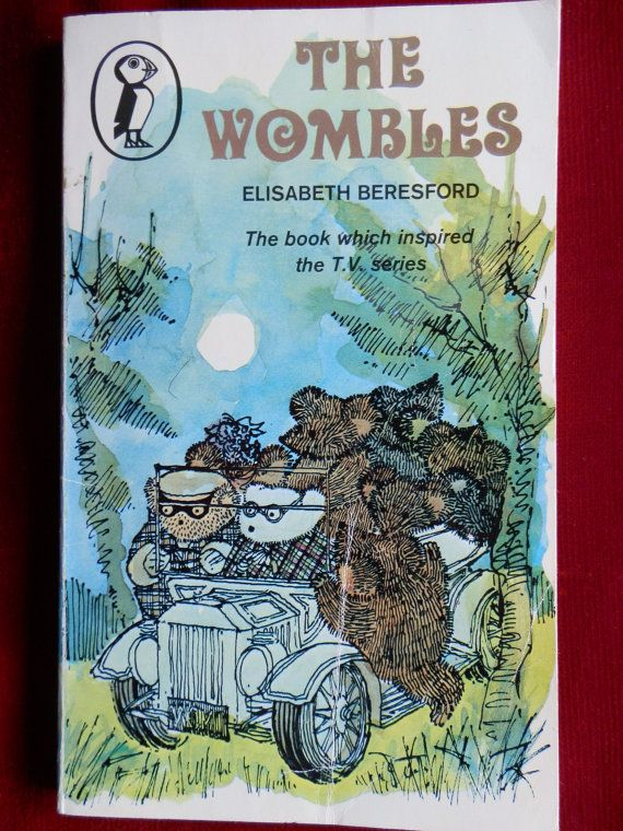 Vintage Book: The Wombles by Elisabeth by TheVenerableBook on Etsy