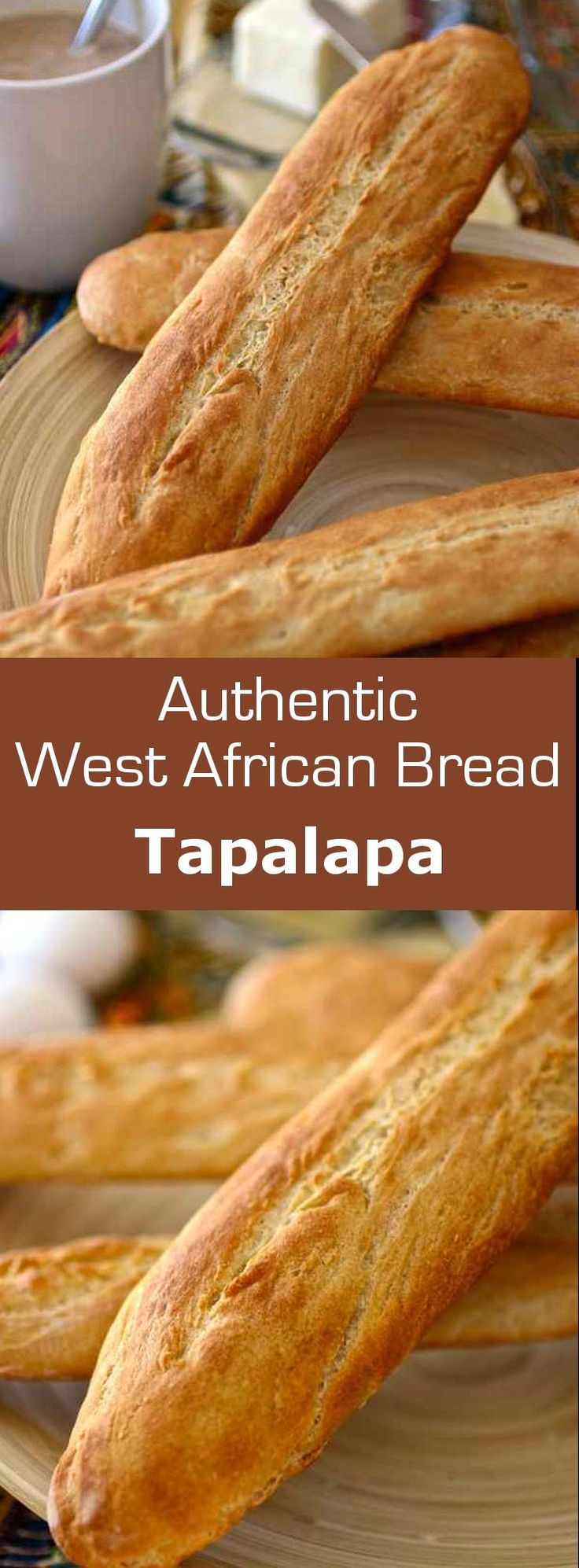 Tapalapa is a popular West African bread, similar to baguette, prepared with a…