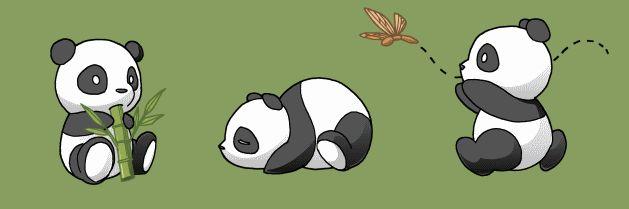 Les 7 meilleures images du tableau panda roux sur - Panda a dessiner ...