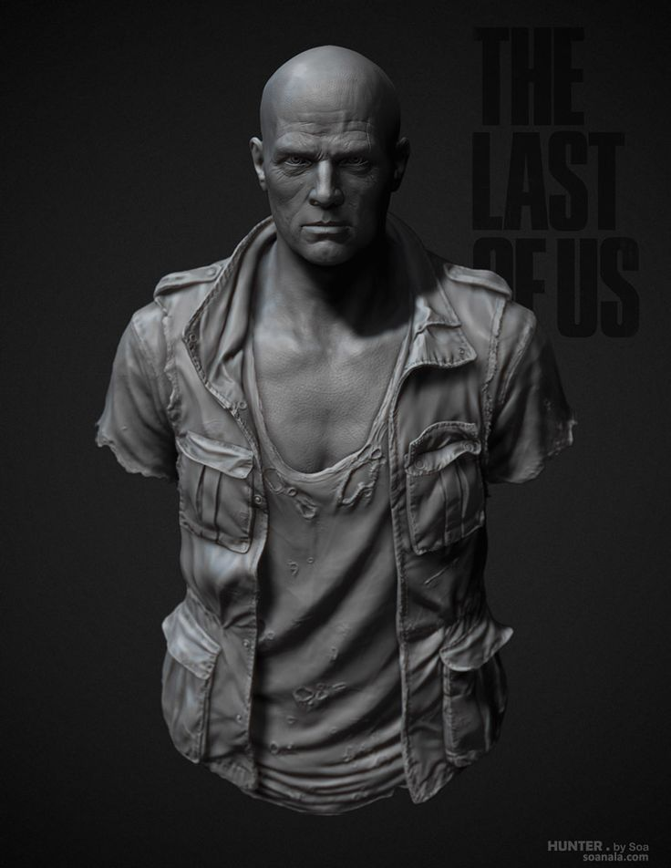 The Last of Us - Character Sculpts (  images Pg 8