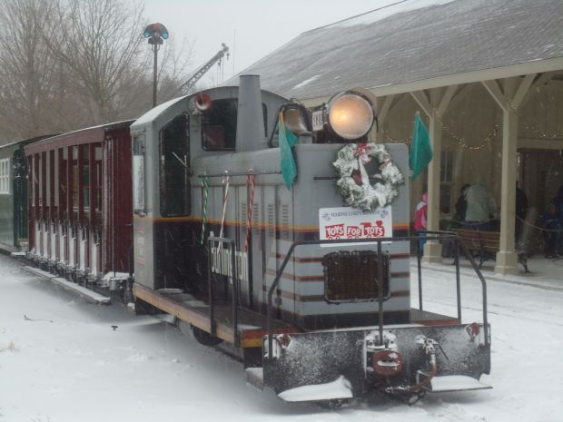 LAPORTE | Santa's Candy Cane Express will chug along the tracks from noon to 5 p.m. Dec. 6, 7, 13 and 14 at the Hesston Steam Museum, 1201 E. County