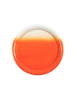 vtwonen dienblad tie and dye oranje Ø 30 cm (Oranje) #orange #plate #ombre #interior #decoration #myhomeshopping