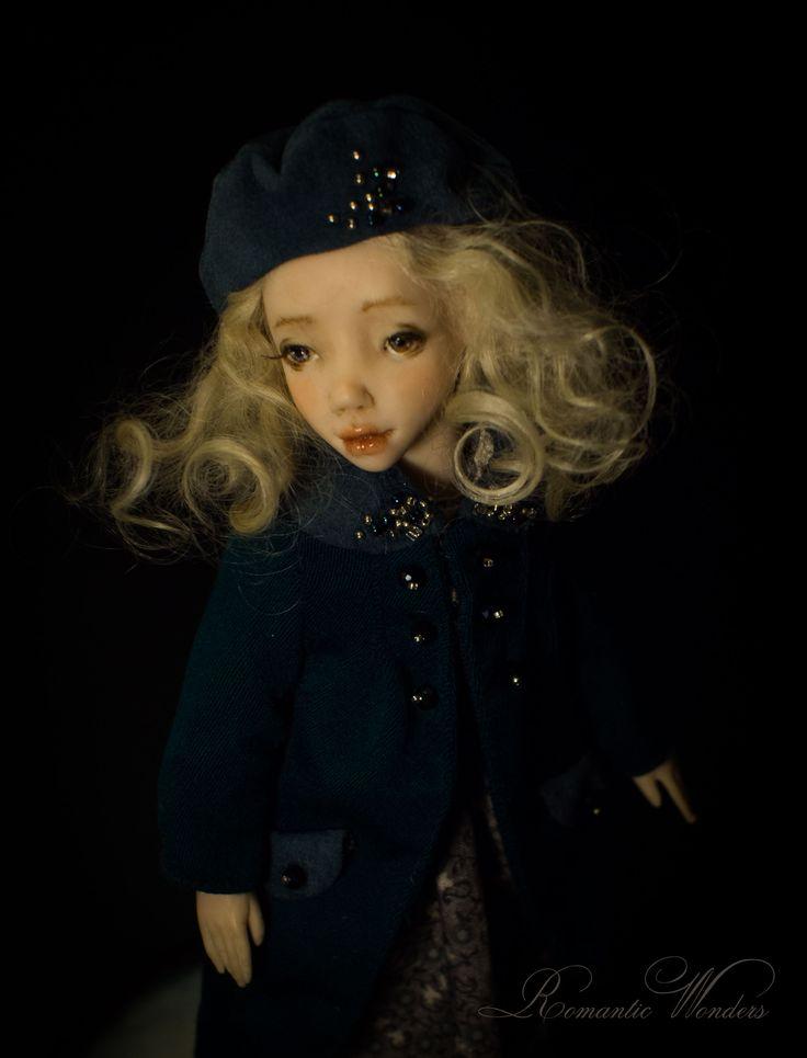Noel. Handmade polymer clay BJD doll by Romantic Wonders
