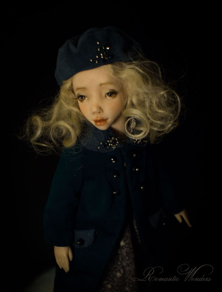 Noel. Handmade polymer clay BJD doll by Romantic Wonders