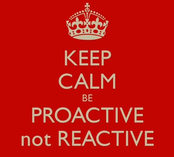 Is there such a thing as Proactive Philosophy ?