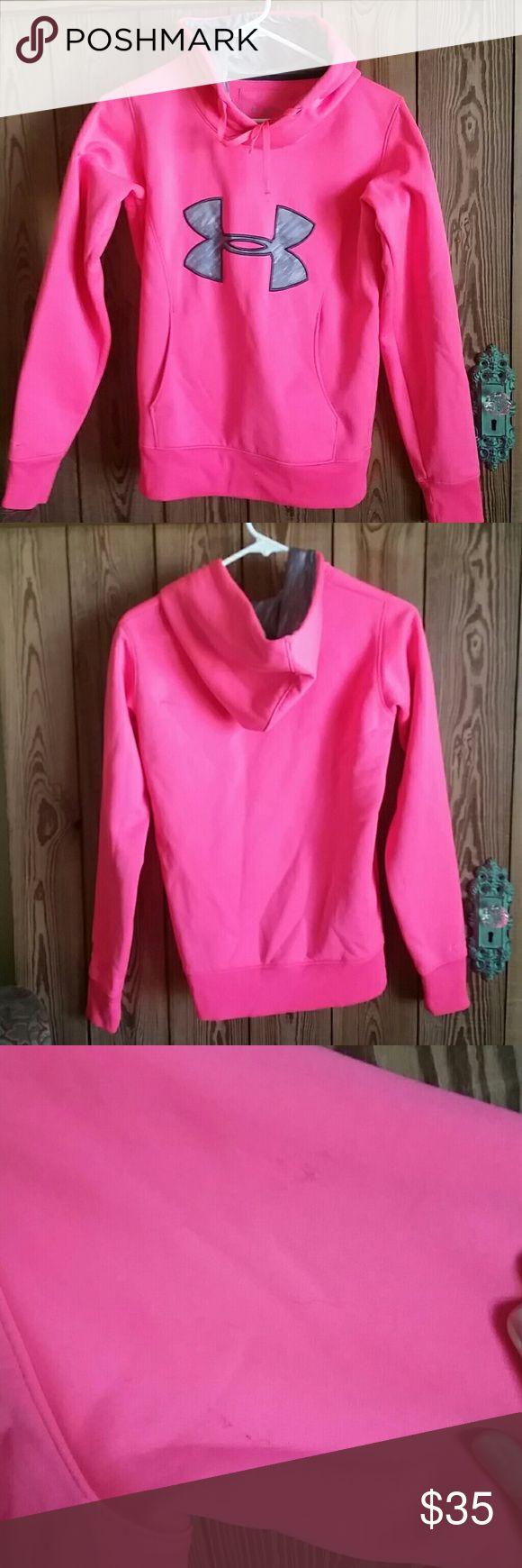 Under Armour neon pink hoodie Pink hoodie, Neon pink
