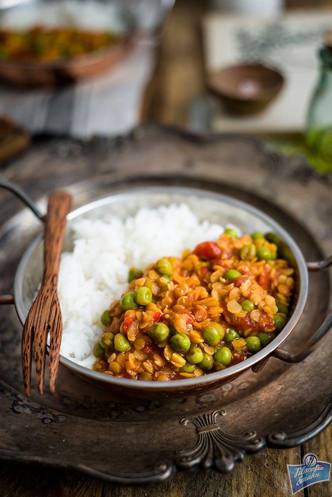 Indyjska potrawka z soczewicy