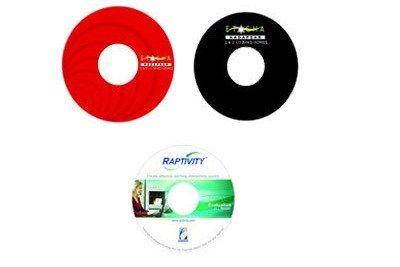 Silk Screen Printing on CD/DVD