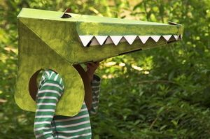 animal masks  crocodile