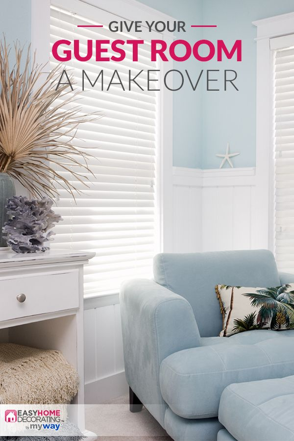 Turn Your Guest Bedroom From Blah To Beautiful With EasyHomeDecoratingTM Access Design Resources