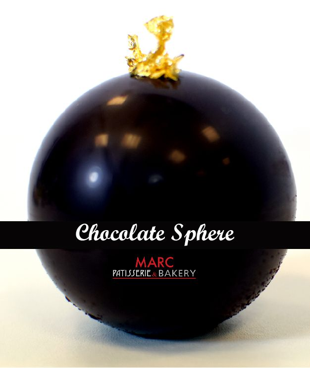 A beautifully crafted Chocolate Sphere from our Chocolate Afternoon Tea collection. We will be putting the last item of this collection in the next few days so be sure to keep a look out. #Patisserie #MARCPatisserie&Bakery #Yummy #ChocolareSphere #Chocolate #AfternoonTea